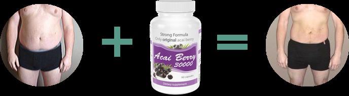 acai berry 30000 efekty